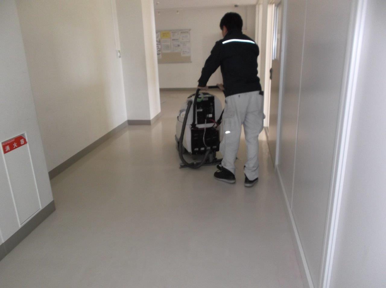 ビルの日常清掃
