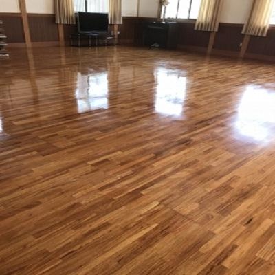 床の剥離清掃